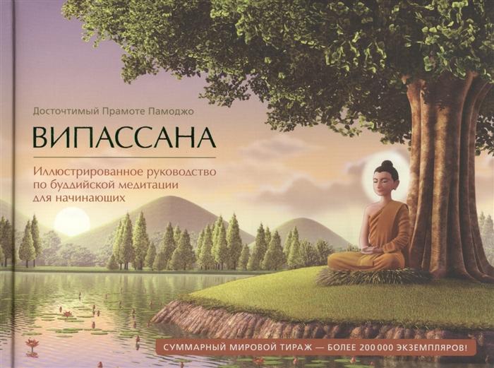 Випассана Иллюстрированное руководство по буддийской медитации для начинающих фото
