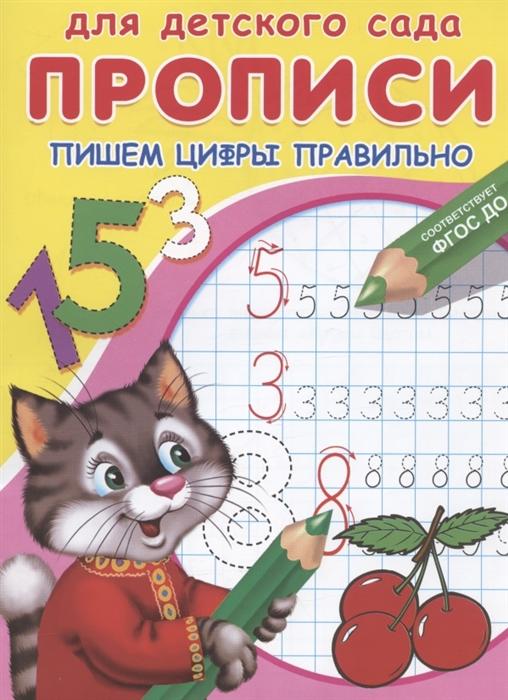Шестакова И. (ред.) Пишем цифры правильно шестакова к д цифры и счёт