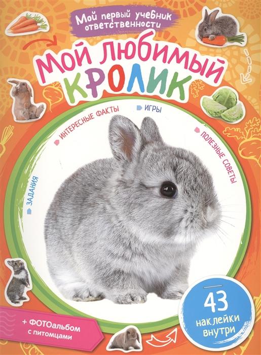 Купить Мой любимый кролик, Рипол-Классик, Книги с наклейками