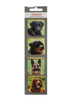 Магнитные закладки Собаки (МЗ2014-011)