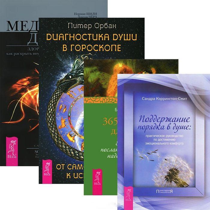 Диагностика души 365 рецептов для души Поддержание порядка Медицина души комплект из 4 книг фото