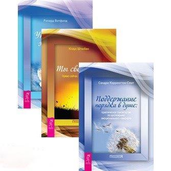 Кэррингтон-Смит С., Штюбен К., Витфилд Р. Поддержание порядке в душе Ты свободен Прямо сейчас Как найти себя Управление эмоциями комплект из 3 книг цены онлайн