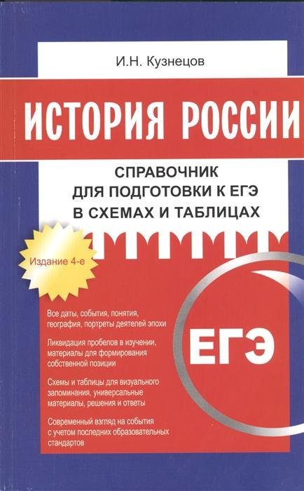 История России Справочник для подготовки к ЕГЭ в схемах и таблицах Издание 4-е