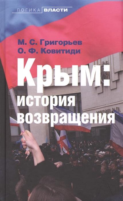 Крым История возвращения