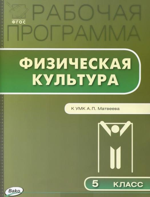 Рабочая программа по физической культуре 5 класс К УМК А П Матвеева М Просвещение