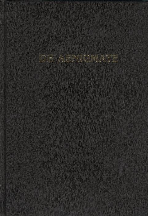 De Aenigmate О тайне Сборник научных трудов