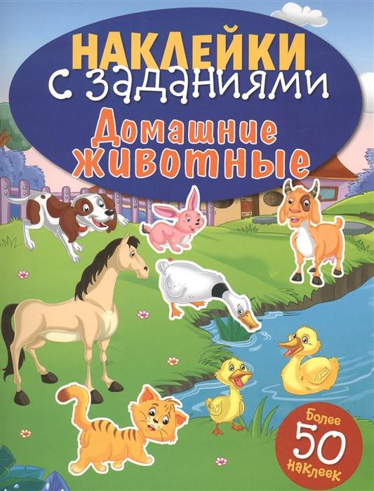 Купить Домашние животные Наклейки с заданиями Более 50 наклеек, Стрекоза, Книги с наклейками