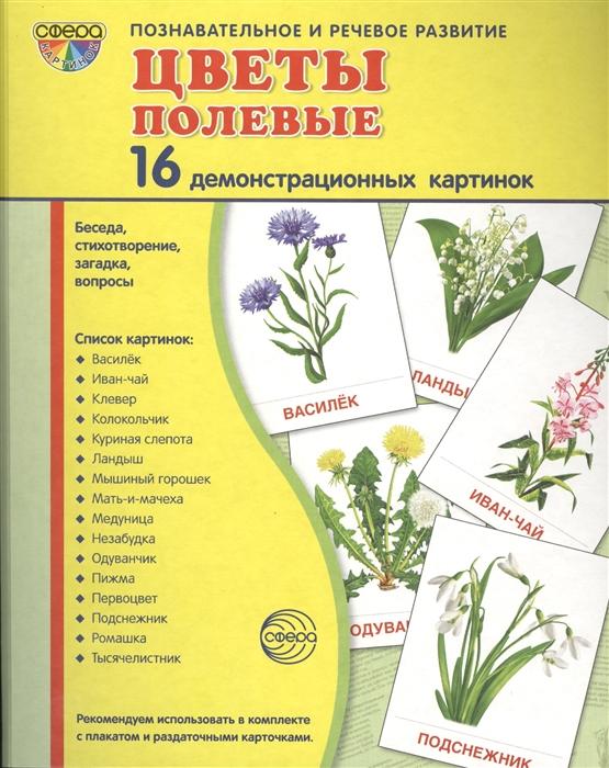 Фото - Цветкова Т. Цветы полевые 16 демонстрационных картинок цветкова т насекомые 16 демонстрационных картинок