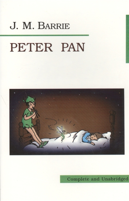 Barrie J. Peter Pan Питер Пэн peter morin j community ecology