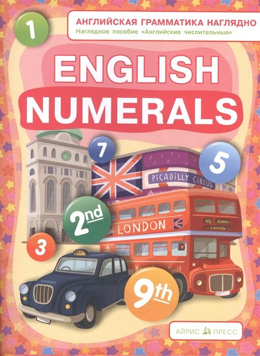 English numerals Наглядное пособие Английские числительные