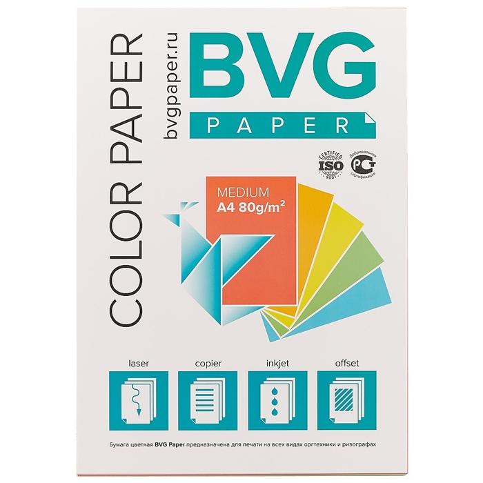 Цветная бумага для печати, А4, 100 листов. «Читай-город»