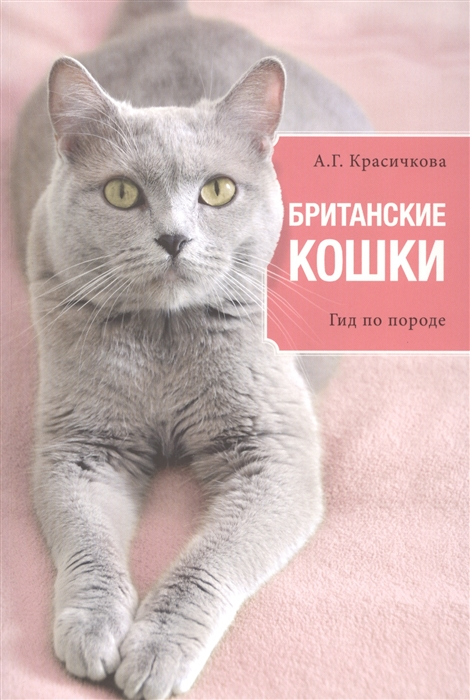 Красичкова А. Британские кошки Гид по породе красичкова анастасия геннадьевна длинношерстные кошки