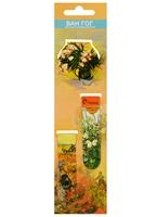 """Магнитные закладки """"Ван Гог: Цветы"""" (3 шт)"""