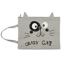 """Папка для тетрадей В5 """"Crazy cat"""""""