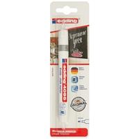 Маркер меловой 4095 белый, 2-3мм, блистер, Edding