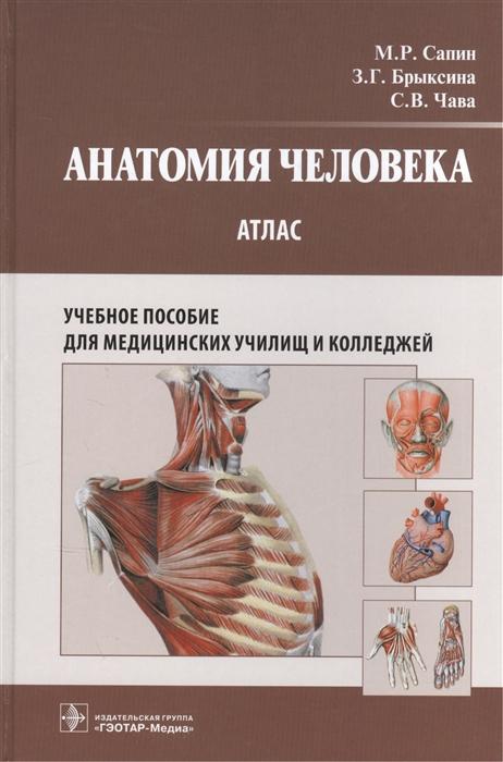 Сапин М., Брыскина З., Чава С. Анатомия человека Атлас Учебное пособие для медицинских училищ и колледжей