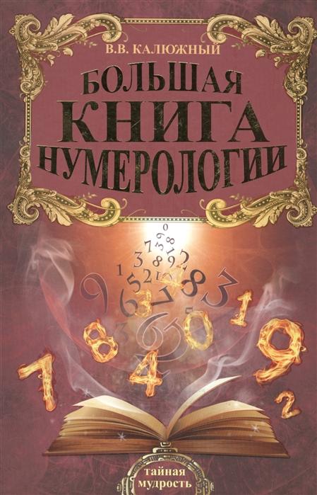 Калюжный В. Большая книга нумерологии александров а большая книга нумерологии цифровой анализ