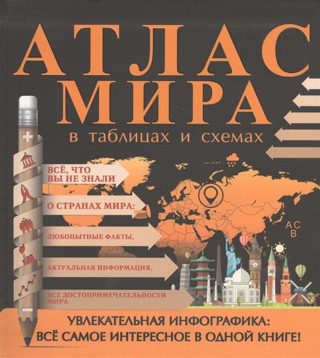 купить Смирнов Д. Атлас мира в таблицах и схемах по цене 317 рублей