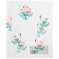 Обложка для тетрадей «Flamingo»