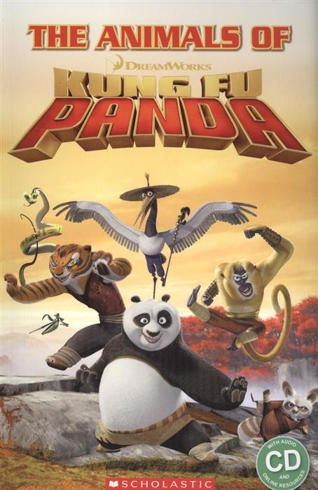 The animals of kung fu panda Starter level CD