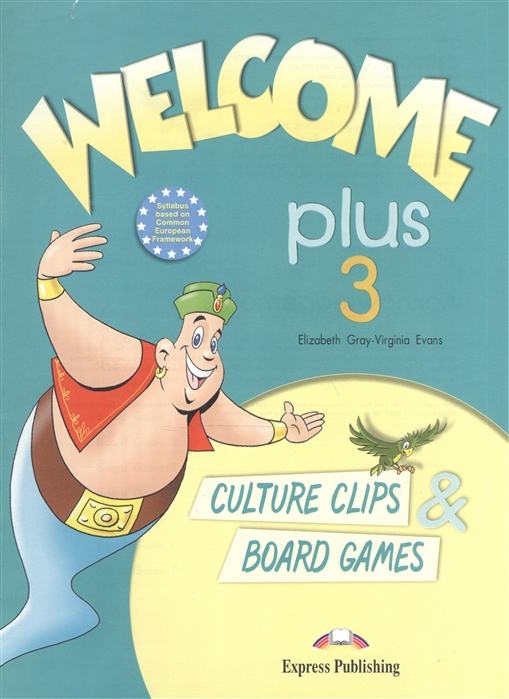 Welcome Plus 3 Culture Clips Board Gamers
