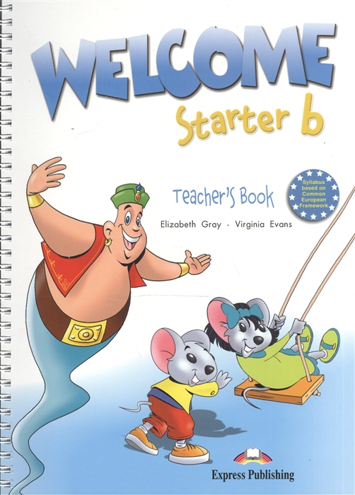 Welcome Starter b Teacher s Book with posters Книга для учителя с постерами