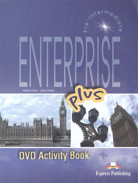 цена на Dooley J., Evans V. Enterprise Plus DVD Activity Book Pre-Intermediate Рабочая тетрадь к видеокурсу
