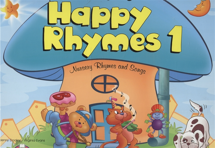 Evans V., Dooley J. Happy Rhymes 1 Nursery Rhymes and Songs Big Story Book цена