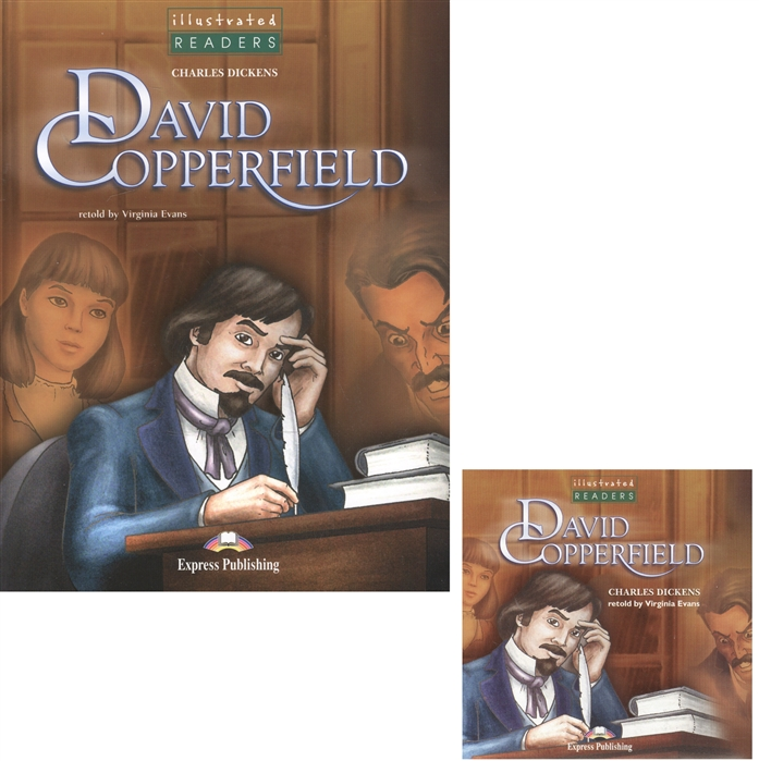 Dickens C. David Copperfield Level 3 Книга для чтения CD oxlade c cars level 3