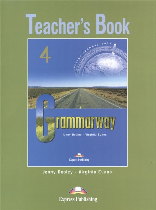 Dooley J., Evans V. Grammarway 4 Teacher s Book подвесная люстра st luce sonata sl157 503 08
