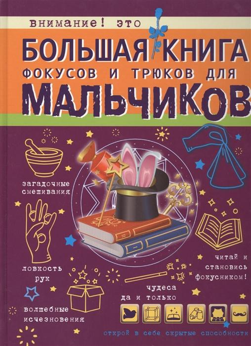 Ригарович В. Большая книга фокусов и трюков для мальчиков виктория ригарович большая копилка фокусов и трюков