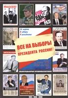 Все на выборы президента России 1991-1996-2000