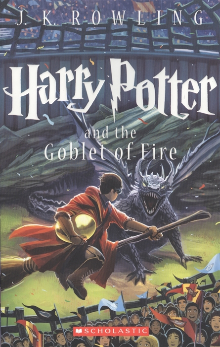 Rowling J. Harry Potter and the goblet of fire who is j k rowling