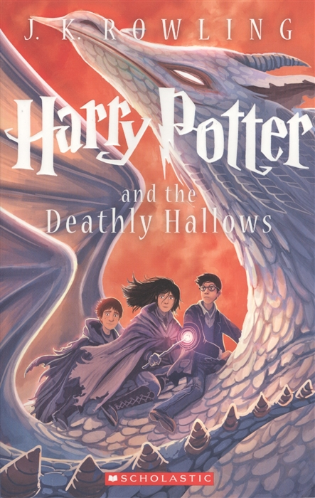 Rowling J. Harry Potter and the deathly hallows майка классическая printio deathly hallows