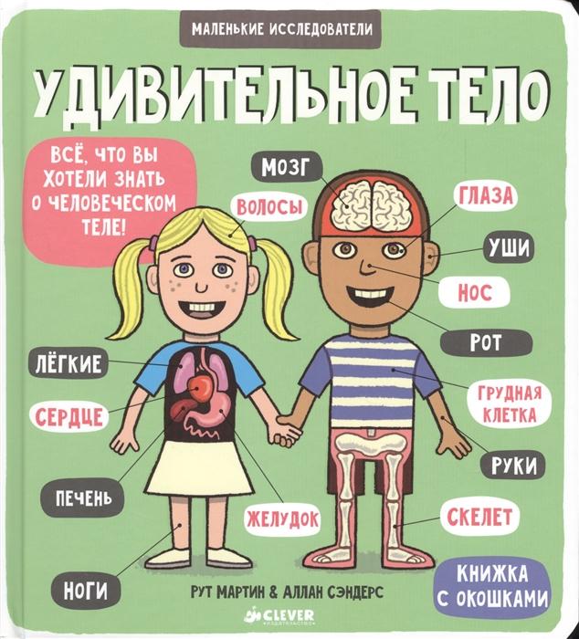 цены на Рут М. Удивительное тело Все что вы хотели знать о человеческом теле Книжка с окошками  в интернет-магазинах