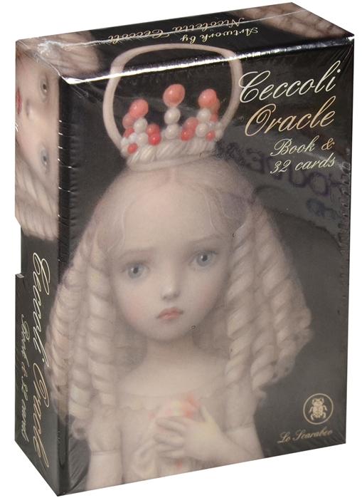 Ceccoli N. (худ.) Ceccoli Oracle Book 32 cards минайя э оракул ангеларий 33 карты с инструкцией angelarium oracle of emanations book 33 cards