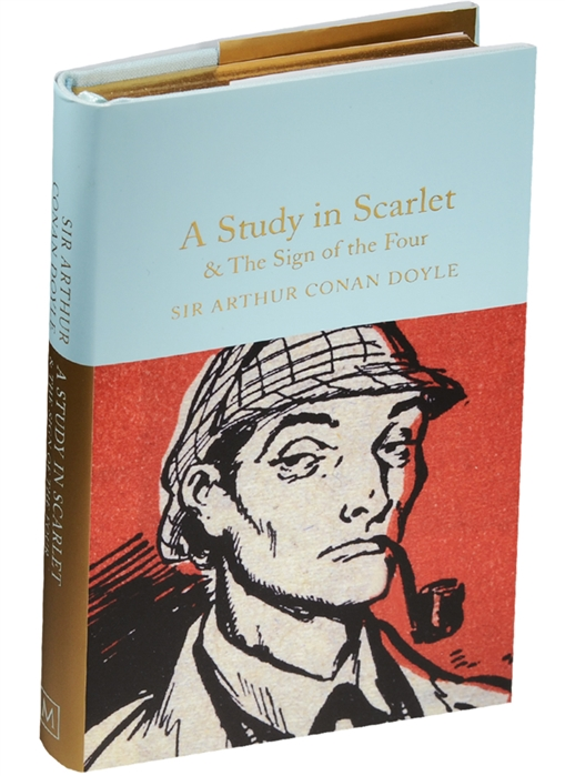 Doyle A. A Study in Scarlet The Sign of the Four scarlet feather