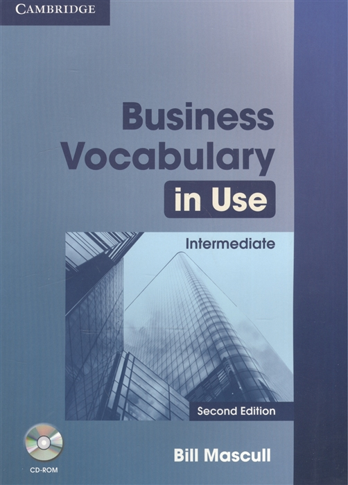 Mascull B. Business Vocabulary in Use Intermediate Second Edition CD mascull b business vocabulary in use intermediate second edition cd