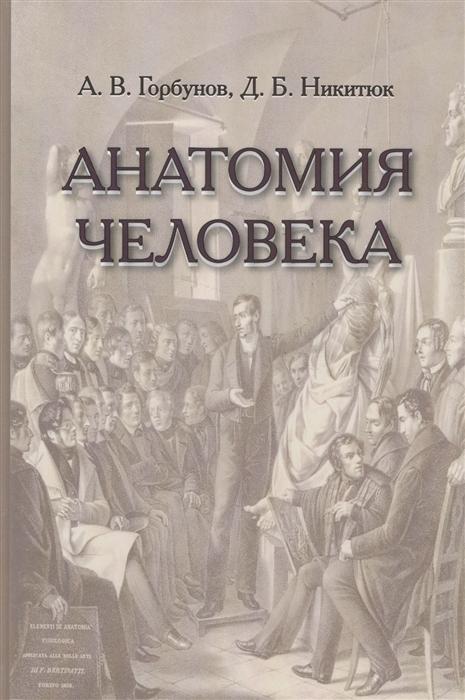 Анатомия человека Учебник