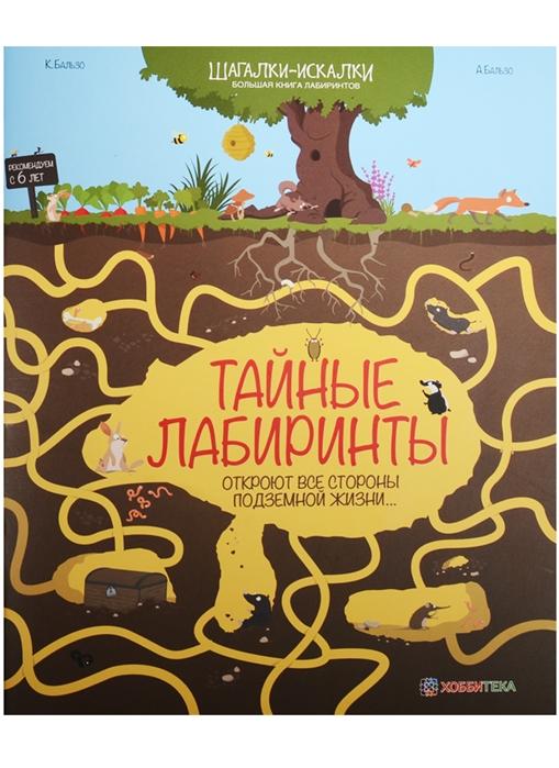 Бальзо А., Бальзо К. Тайные лабиринты откроют все стороны подземной жизни Большая книга лабиринтов бальзо а бальзо к тайные лабиринты откроют все стороны подземной жизни… большая книга лабиринтов