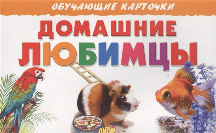 Богуславская М. (худ.) Обучающие карточки Домашние любимцы
