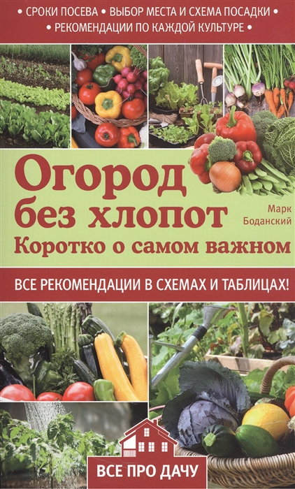 Огород без хлопот Коротко о самом важном Все рекомендации в схемах и таблицах