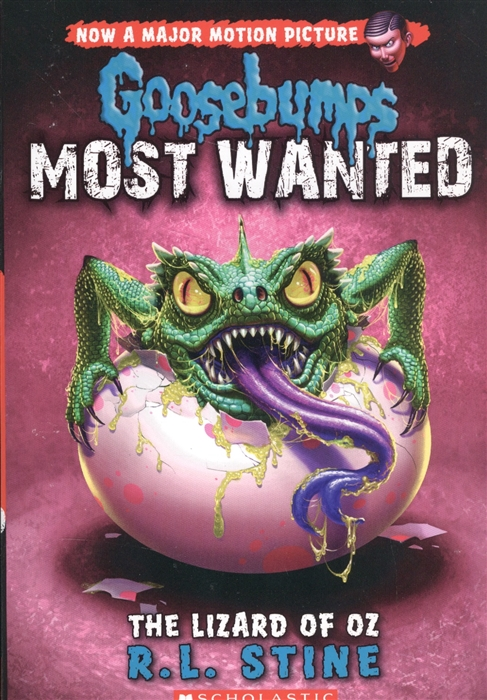 Stine R. L. Goosebumps Most Wanted 10 The Lizard of Oz puky r 03 l red