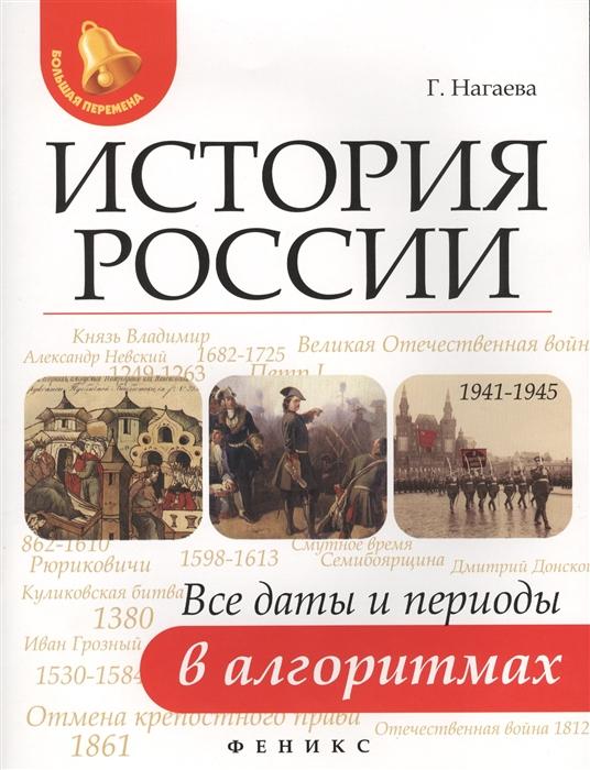 История России Все даты и периоды в алгоритмах