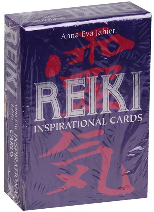 Anna Eva Jahier Рейки Карты вдохновения инструкция на русском языке