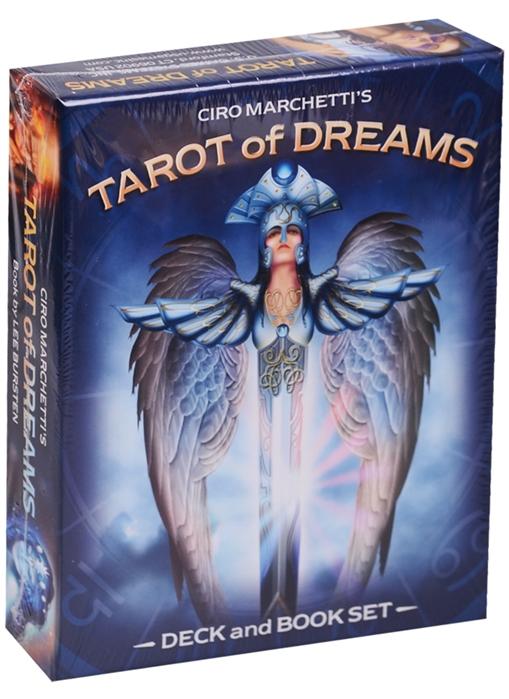 Ciro Marchetti Tarot of Dreams Таро Снов Набор 83 карты с книгой на английском языке карты таро lo scarabeo before tarot