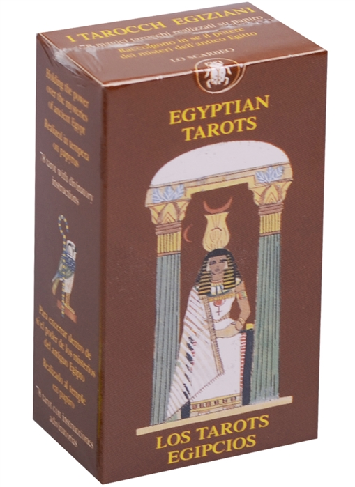 Mini Tarot Egyptian Мини Таро Египетское карты таро u s games systems мечты гайи dreams of gaia tarot