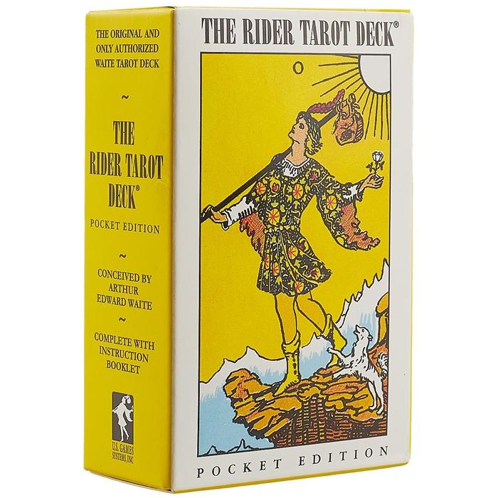 The Rider tarot deck Pocket edition the hermetic tarot
