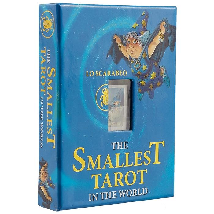 The Smallest Tarot in the World Самое маленькое таро в мире Таро Гномов 22 аркана таро гномов rus