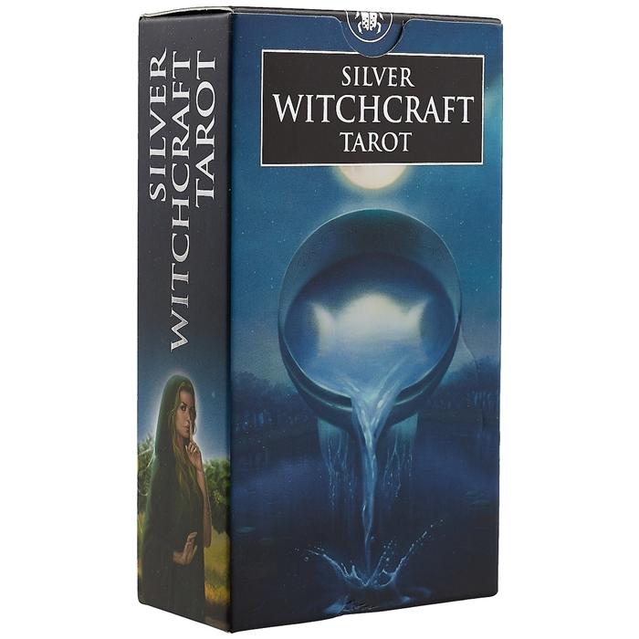 Silver witchcraft Tarot 78 карт witchcraft witchcraft legend